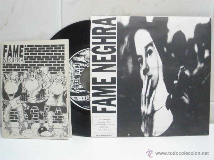 DIRTY BARRIGUITAS & FAME NEGHRA EP SPANISH PUNK CON LIBRETO VER FOTOS (Música - Discos - Singles Vinilo - Grupos Españoles de los 90 a la actualidad)