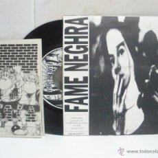 Discos de vinilo: DIRTY BARRIGUITAS & FAME NEGHRA EP SPANISH PUNK CON LIBRETO VER FOTOS. Lote 43080405