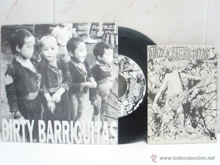 Discos de vinilo: DIRTY BARRIGUITAS & fame neghra EP spanish PUNK con libreto ver fotos - Foto 2 - 43080405