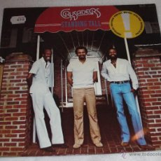 Discos de vinilo: THE CRUSADERS - STANDING TALL - MADE IN GERMANY 1981 - LP. Lote 43081840