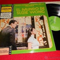 Discos de vinilo: EL MUNDO DE SUZIE WONG GEORGE W.DUNING OST BSO LP 1981 RCA PROMO EDICION ESPAÑOLA SPAIN. Lote 43081857