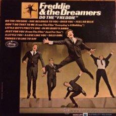Discos de vinilo: FREDDIE & THE DREAMERS MONO ORIGINAL USA LP – DO THE FREDDIE VG+/VG++. Lote 43082737