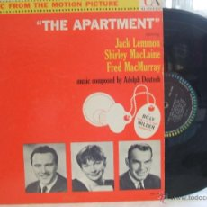 Discos de vinilo: THE APARTMENT (EL APARTAMENTO) / ORIGINAL USA / LP / JACK LEMMON / SHIRLEY MCLAINE. Lote 43087743