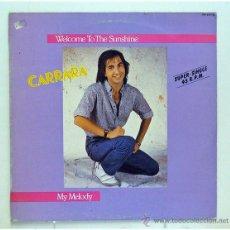 Discos de vinilo: CARRARA - 'WELCOME TO THE SUNSHINE' (MAXI SINGLE VINILO) - PEDIDO MÍNIMO 8€. Lote 43088140
