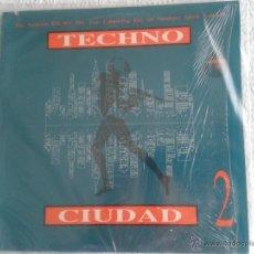 Discos de vinilo: DISCO DE VINILO TECHNO CIUDAD 2. Lote 43100500