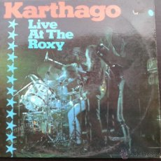 Discos de vinilo: LP - KARTHAGO- LIVE AT THE ROXY** DOBLE ALBUM ** 1976 BACILUS RECORDS*** KRAUTROCK ALEMAN *** . Lote 43100504