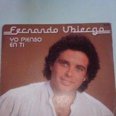 Discos de vinilo: FRANCISCO UBIERGO. YO PIENSO EN TI. ESTOY MEJOR ASI. HISPAVOX 45-2256 (1982) FESTIVAL DE BENIDORM. Lote 43101199