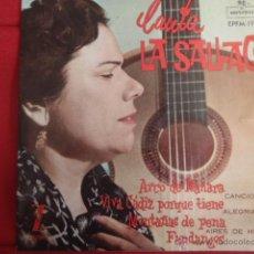 Discos de vinilo: LA SALLAGO ARCO DE MAÑARA.. Lote 43104102