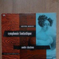 Discos de vinilo: SYMHONY FANTASTIQUE OP. 14. HECTOR BERLIOZ - ORCHESTRE NATIONAL DE LA RADIODIFFUSION FRANÇAISE. DIR:. Lote 43104911