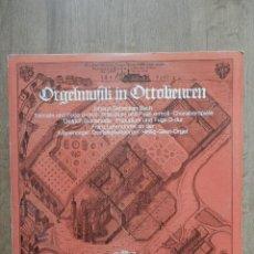 Discos de vinilo: ORGELMUSIK IN OTTOBEUREN. JOH. SEB. BACH - FRANZ LEHRNDORFER AN DER MARIENORGEL. DREIFALTIGKEITSORGE. Lote 43104920
