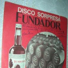 Discos de vinilo: LOS GEMELOS DEL SUR - CUMBIA MORENA - EP FUNDADOR 1969. Lote 43105866