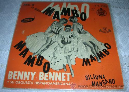 BENNY BENNET - MUSICA DE LA PELICULA MAMBO MAMBO - EP (Música - Discos de Vinilo - EPs - Grupos y Solistas de latinoamérica)