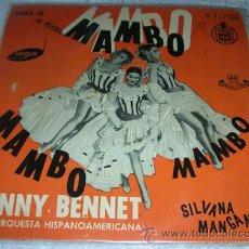 Discos de vinilo: BENNY BENNET - MUSICA DE LA PELICULA MAMBO MAMBO - EP. Lote 43105892
