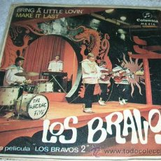 Discos de vinilo: LOS BRAVOS - BRING A LITTLE LOVIN' - SINGLE 1967. Lote 182659267