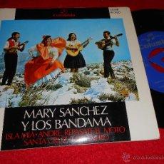 Discos de vinilo: MARY SANCHEZ Y LOS BANDAMA ISLA MIA/SANTA CRUZ +2 EP 1968 COLUMBIA FOLK CANARIAS. Lote 43108839