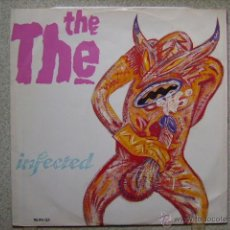 Discos de vinilo: THE THE...INFECTED....MAXI PORTADA CENSURADA Y MUY BUSCADO...UNICO. Lote 121411838