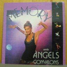 Discos de vinilo: ÀNGELS GONYALONS - MEMORY - LP TRANSDISC - TR-4003 - ESPAÑA 1992 - ENCARTE ORIGINAL. Lote 43120096