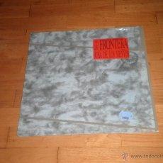 Discos de vinilo: LA FRONTERA. LP LA ROSA DE LOS VIENTOS. 1990. Lote 43121385