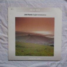 Discos de vinilo: JOHN THEMIS - ENGLISH RENAISSANCE LP 1987 NEW AGE. Lote 43129235