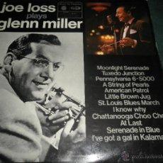 Discos de vinilo: JOE LOSS - PLAYS GLEN MILLER LP - ORIGINAL INGLES -MUSIC FOR PLEASURE 1969 - STEREO -. Lote 43130100