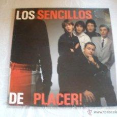 Discos de vinilo: LOS SENCILLOS DE PLACER. Lote 43136958