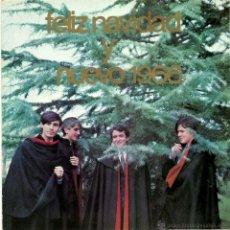 Discos de vinilo: LOS BRINCOS. FELIZ NAVIDAD (VINILO SINGLE 1965). Lote 43138573