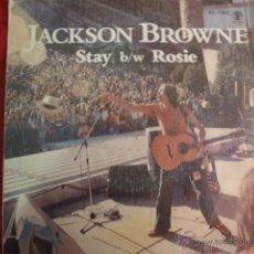 Discos de vinilo: JACKSON BROWNE STAY ROSIE. Lote 43140618