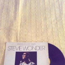 Discos de vinilo: STEVIE WONDER INTERPRETADO POR STAN WALKER Y THE TRAMPS . LP 1977. Lote 43141645