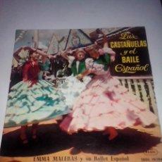 Discos de vinilo: EMMA MALERAS Y SU BALLET.VALENCIA.VERDIALES DE GIBRALFARO.MANOLETE.ZARAGOZANA REGAL SEDL 19194(1958). Lote 43142389