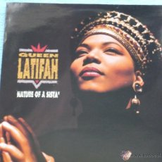 Disques de vinyle: QUEEN LATIFAH,NATURE OF A SISTA EDICION ESPAÑOLA DEL 91. Lote 54122518