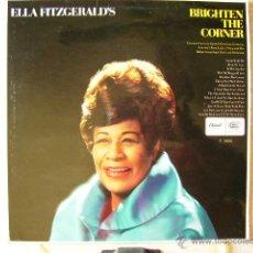 Discos de vinilo: ELLA FITZGERALD´S..BRIGHTEN THE CORNER...EX. Lote 43145081