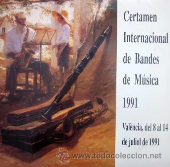 CERTAMEN INTERNACIONAL DE BANDES DE MÚSICA - VALENCIA 1991 - DOBLE LP (Música - Discos - LP Vinilo - Otros estilos)
