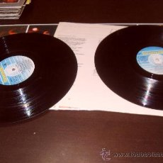 Discos de vinilo: SILVIO RODRIGUEZ DOBLE LP CAUSAS Y AZARES FONOMUSIC 1986 GATEFOLD SLEEVE. Lote 43147054