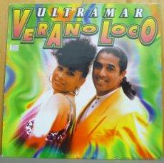 Discos de vinilo: ULTRAMAR - VERANO LOCO - MAXI-SINGLE LA DAMA MUSIC - LD001MX - ESPAÑA 1996. Lote 43147878