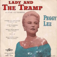 Discos de vinilo: EP-PEGGY LEE LADY AND THE TRAMP-COLUMBIA 70170-SPAIN SIN FECHA. Lote 43152157