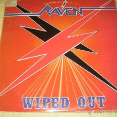 Discos de vinilo: RAVEN - ED. ESPAÑOLA - 1986. Lote 43156200