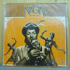 Discos de vinilo: HEMANT KUMAR / RAVI Y KALYANJI / LATA MANGESHKAR - NAGIN - LP HIS MASTER'S VOICE - INDIA 1974. Lote 43160079