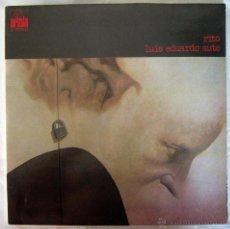 Discos de vinilo: LUIS EDUARDO AUTE. RITO. LP VINILO. 1973. Lote 43160449