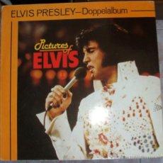 Discos de vinilo: ELVIS PRESLEY-DOPPELALBUM-PICTURES OF ELVIS VOL1 VOL.2. Lote 43165088