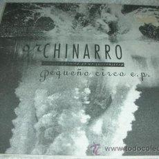 Discos de vinilo: SR. CHINARRO - PEQUEÑO CIRCO EP. Lote 43169708