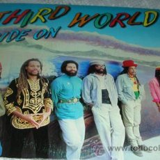 Discos de vinil: THIRD WORLD - RIDE ON - SINGLE 1982. Lote 43169776
