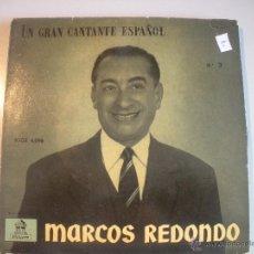 Discos de vinilo: MAGNIFICO SINGLE DE - MARCOS - REDONDO -Nº3. Lote 43169967