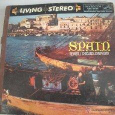 Discos de vinilo: MAGNIFICO LP -( MUY ANTIGUO ) RECORDANDO A ESPAÑA -LIVING - STEREO - LA VOZ DE SU AMO -. Lote 43169988