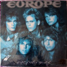 Discos de vinilo: EUROPE - OUT OF THIS WORLD - LP - EPIC 1988 - HEAVY. Lote 43170245