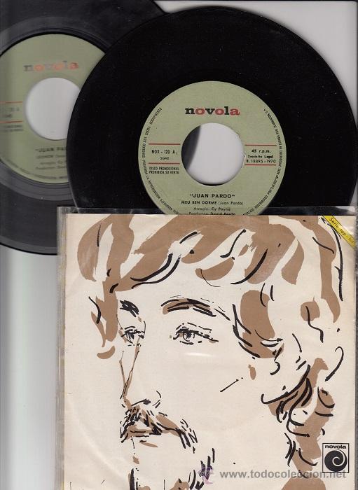 JUAN PARDO - MEU BEN DORME / LEONOR DOBLE SINGLE DE VINILO SOLO PROMOCIONAL CANTADO EN GALLEGO (Música - Discos de Vinilo - EPs - Étnicas y Músicas del Mundo)