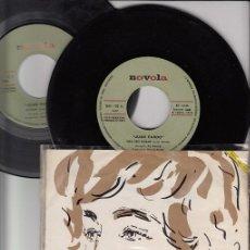 Discos de vinilo: JUAN PARDO - MEU BEN DORME / LEONOR DOBLE SINGLE DE VINILO SOLO PROMOCIONAL CANTADO EN GALLEGO. Lote 43177343