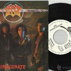 Discos de vinilo: COZ SINGLE PROMOCIONAL IMAGINATE ESPAÑA 1981. Lote 43179181