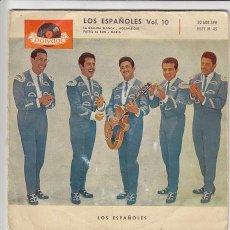 Discos de vinilo: LOS ESPAÑOLES - LA GALLINA BLANCA - EP RARO DE VINILO. Lote 43179182