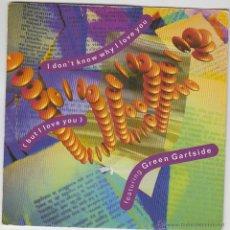 Discos de vinilo: B.E.F., I DON'T KNOW WHY I LOVE YOU / GREEN GARTSIDE, EDITADO POR TEN RECORDS EN 1991. Lote 43187570
