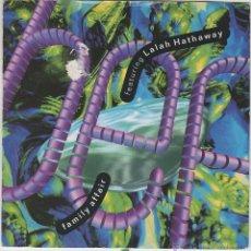 Discos de vinilo: B.E.F., LALAH HATHAWAY / FAMILY AFFAIR, EDITADO POR TEN RECORDS EN 1990. Lote 43187594